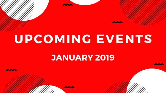 Upcoming Events: November 2018