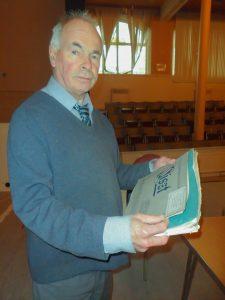 John, volunteer custodian