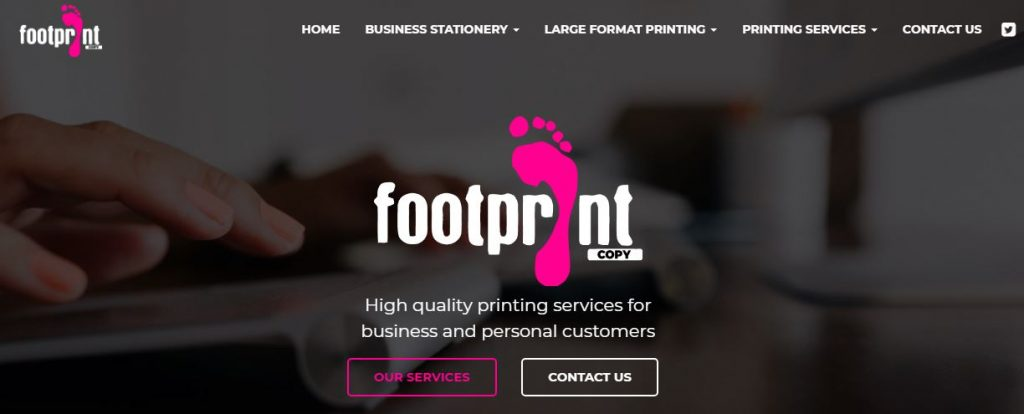 Footprint-Copy webiste