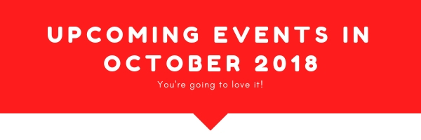 Upcoming Events October 18